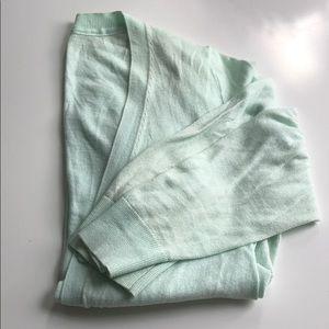 Gap Cardigan, mint green, M